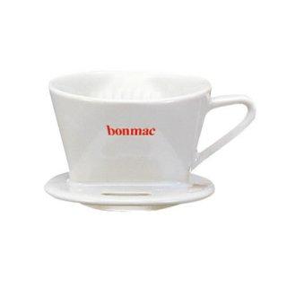【BONMAK/ボンマック】扇型コーヒードリッパー CD-1W 1〜2杯用(白)