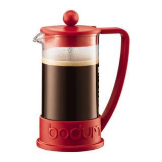 【bodum/ボダム】BRAZIL フレンチプレスコーヒーメーカー 0.35L[レッド]