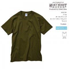 アスレ7.1oz オーセンティック スーパーヘヴィーウェイト Tシャツ 無地 ボディ オンス ユナイテッドアスレ シルクスクリーン 4252-01
