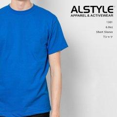 ALSTYLE 6.0oz Short Sleeve Tシャツ 無地 ボディ アルスタイル 海外ボディ シルクスクリーン 1301