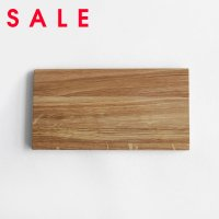 【SALE】Swedish Craft / Cheese Plate (oak) 230X120X10mm