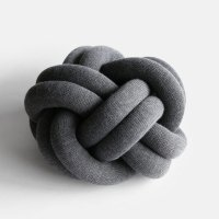 Design House Stockholm / Knot CUSHION(grey)