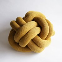 Design House Stockholm / Knot CUSHION(yellow)