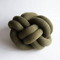 Design House Stockholm / Knot CUSHION(green)