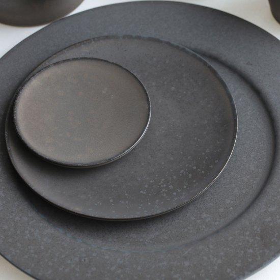 SyuRo[シュロ] / 炻器plate M(黒...