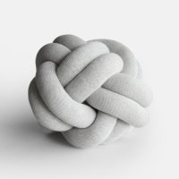 Design House Stockholm / Knot CUSHION(white grey)