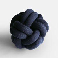Design House Stockholm / Knot CUSHION(navy)