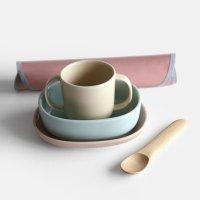 NUPPU / Baby Tableware Set(Common Heather)