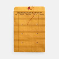 String And Button Inter-Department Envelopes 10sheets