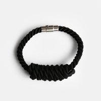 NOEUD / Lineknot-bracelet(BK)【メール便可 3点まで】