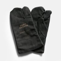 &NUT / &NUT×Welza LEATHER CAMP GLOVES(Black)【メール便可 1点まで】