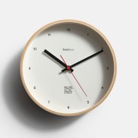 FreshService / Wall Clock(WHITE)