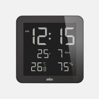 BRAUN / Digital Clock BNC014BK