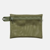 FREDRIK PACKERS×FreshService / MESH POUCH _L(Olive)