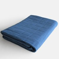 YARN HOME / UKIHA Blanket(Indigo)