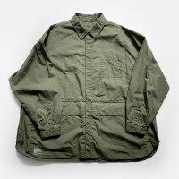 FreshService / CARGO POCKET REGULAR COLLAR UTILITY SHIRT(Khaki)