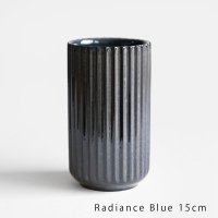 Lyngby Porcelain[リュンビューポーセリン] / Radiance Vase 15cm(Blue)