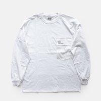 FreshService / L/S POCKET TEE(White)