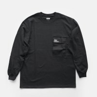 FreshService / L/S POCKET TEE(Black)