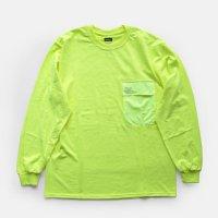 FreshService / L/S POCKET TEE(Yellow)