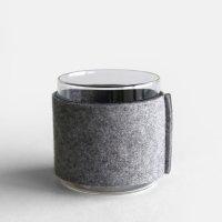 BOROSIL VISION GLASSES / フエルトスリーブ 83 (DOF/Jug) (Lignt Gray&Gray)