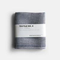 KARIN CARLANDER / TEXTILE NO.4 TEA TOWEL YINYANG(BLUE/WHITE)