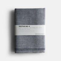 KARIN CARLANDER / TEXTILE NO.6 BATH TOWEL / TABLECLOTH YINYANG(BLUE/WHITE)
