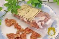 『松山ハーブ鶏の素干しササミ -もっちり-』 /ドッグサパのおやつ時間。