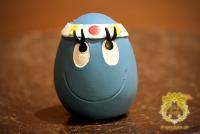 ハチマキたまごちゃん-ブルー-