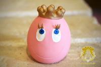 王冠たまごちゃん-ピンク-
