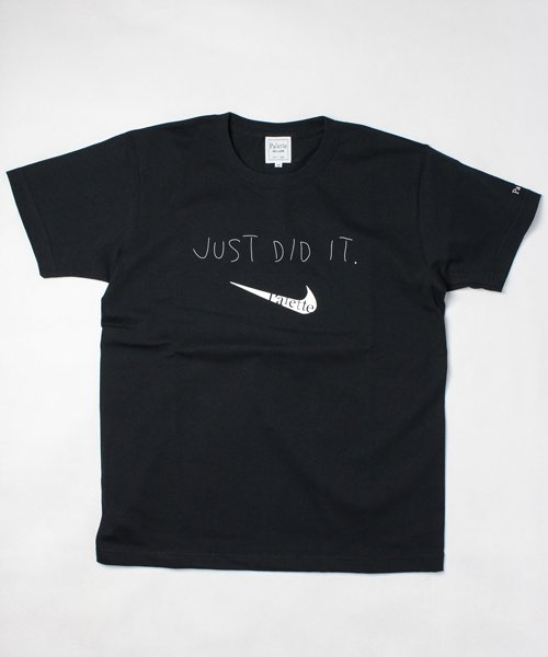 JUST DID IT TEE(BLACK)