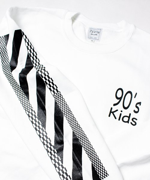90's KIDS CREW SWEAT(WHITE)