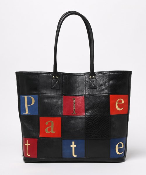 CRAFT PATCHWORK TOTE BAG