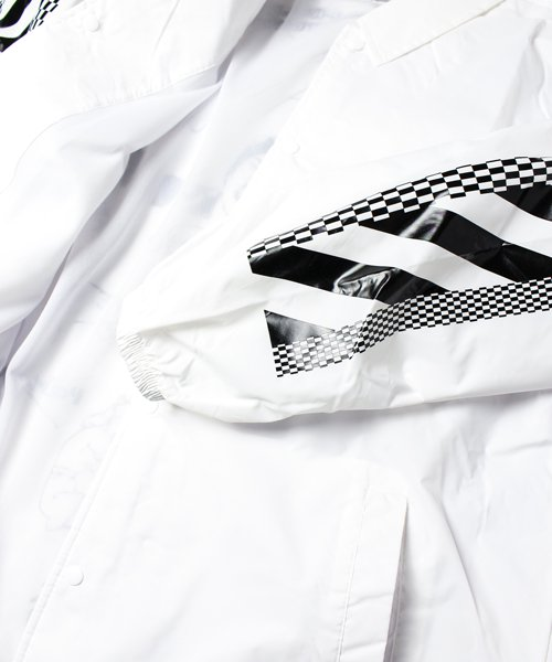 CHAOS COACH JACKET(WHITE)