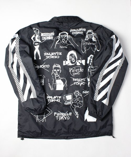 CHAOS COACH JACKET(BLACK)