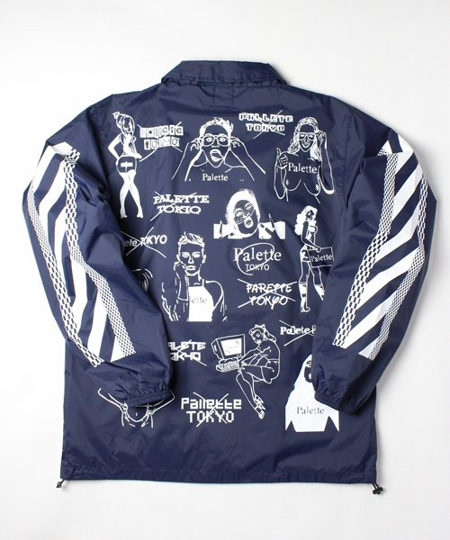 CHAOS COACH JACKET(NAVY)