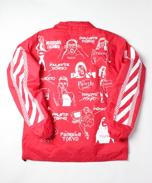 CHAOS COACH JACKET(RED)