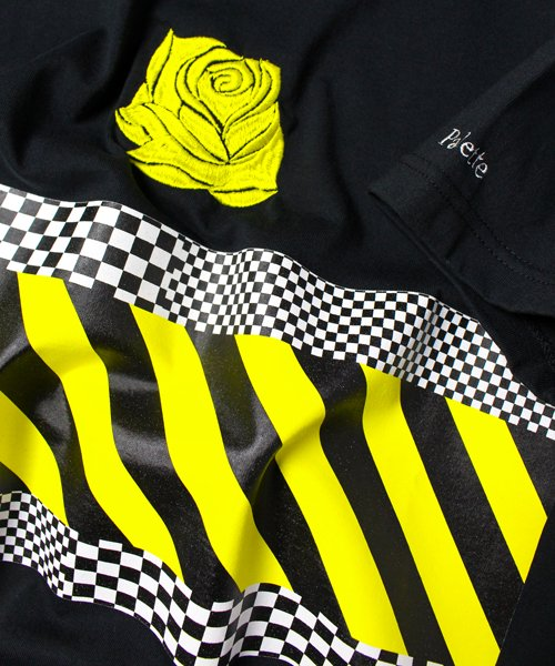 Lily's ROSE TEE(BLACK)