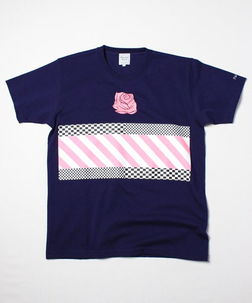 Lily's ROSE TEE(NAVY)