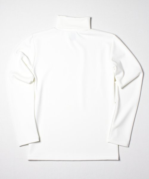 《17AW予約》SMOOTH TURTLE NECK(WHITE)