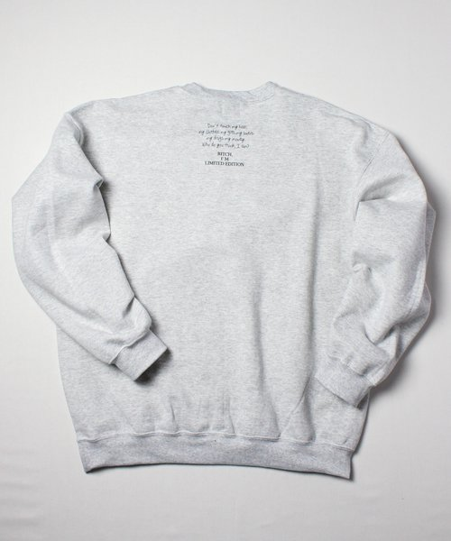 MY STANCE CREW SWEAT(ASH)