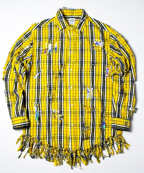 DAMAGE SHIRTS COAT(YELLOW)
