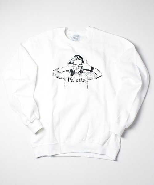 THE WOMEN NEW #1 CREW SWEAT(WHITE)