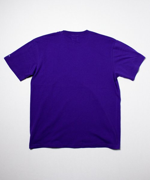 SMILE GIRL TEE(PURPLE)