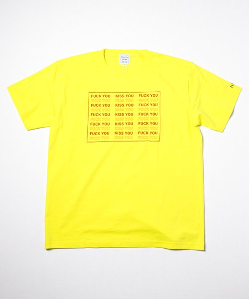 KISS YOU TEE(YELLOW)
