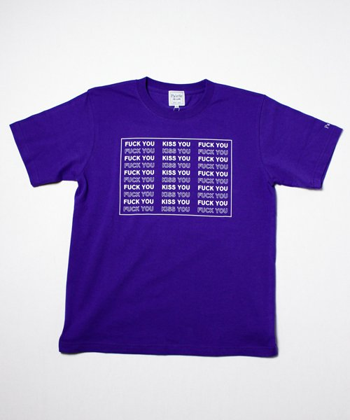 KISS YOU TEE(PURPLE)