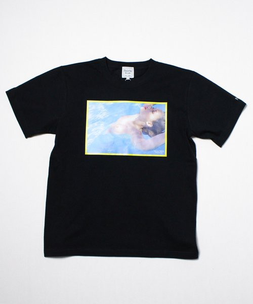 SWIMMING CLUB TEE(BLACK)