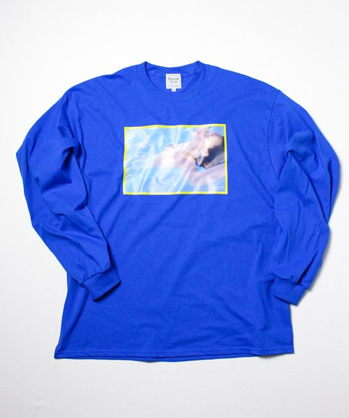 SWIMMING CLUB L/S(BLUE)