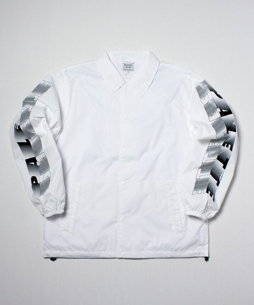 CRAZY MOTION BIG COACH JACKET(WHITE)