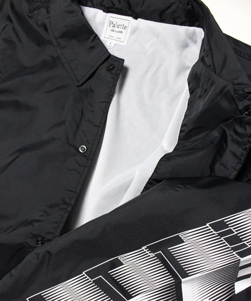 CRAZY MOTION BIG COACH JACKET(BLACK)